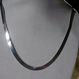 Other - Sterlin Silver chain Men or Women new 21""